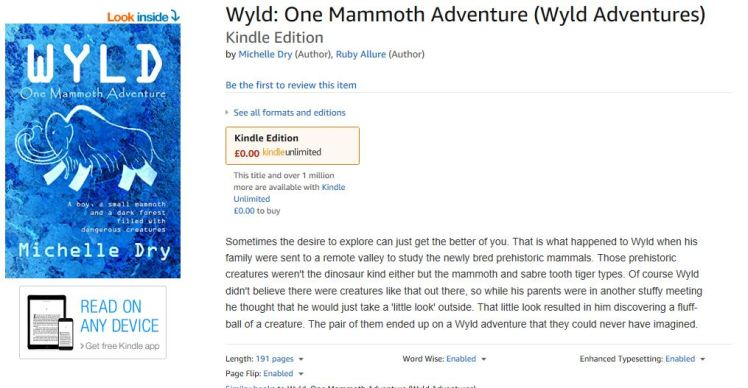 Wyld on Amazon