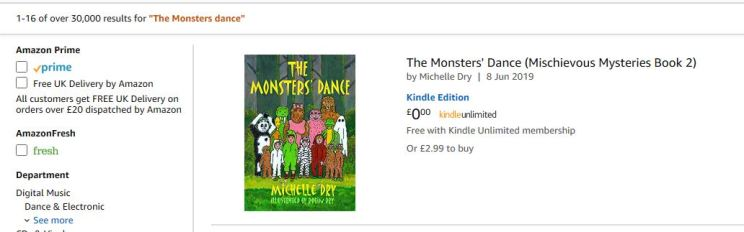 Monsters dance amazon snip